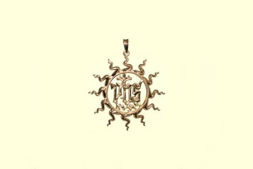 2. Ciondolo ologramma S. Bernardino 27 mm