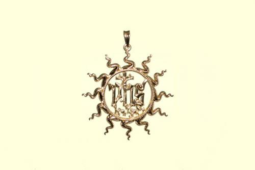 3. Ciondolo ologramma S. Bernardino 32 mm