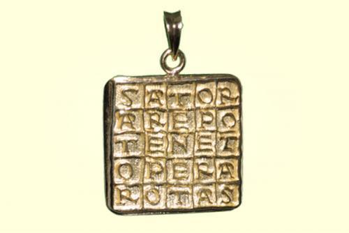 2. Ciondolo Quadrato Magico (Sator) Grande